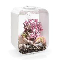 White biOrb® LIFE 15 Aquarium Kit with Remote Controlled Color LED Lighting