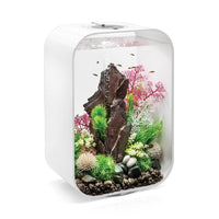 White biOrb® LIFE 45 Aquarium Kit with Multi-Color Remote Controlled LED Lighting