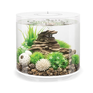White biOrb® TUBE 15 Aquarium Kit by Oase