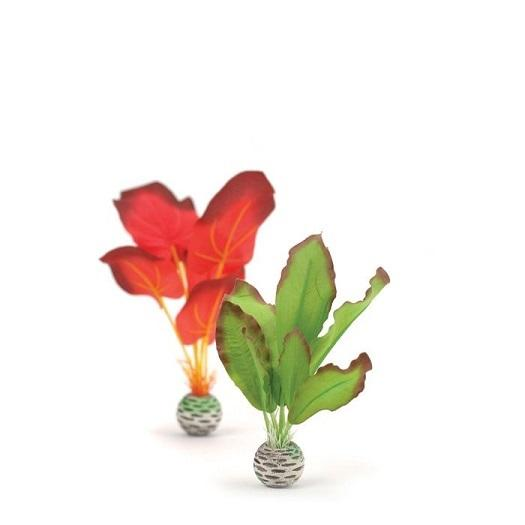 Small biOrb® Red/Green Silk Aquarium Plant Set