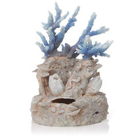 Front view of biOrb® Blue Reef Coral Aquarium Ornament