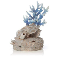 Right side view of biOrb® Blue Reef Coral Aquarium Ornament