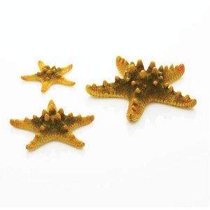 biOrb® Yellow Aquatic Sea Star Aquarium Decoration 3-Pack