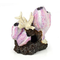 Rear view of biOrb® Pink Barnacle Cluster Aquarium Ornament