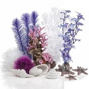 biOrb® Pink Ocean Easy Decor Kit for 30 Liter Aquariums