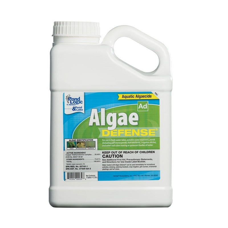 Airmax® Pond Logic® Algae Defense® Algaecide, Gallon jug