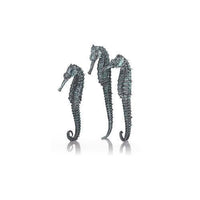 biOrb® Metallic Black Aquatic Seahorse 3-Pack Aquarium Decorations