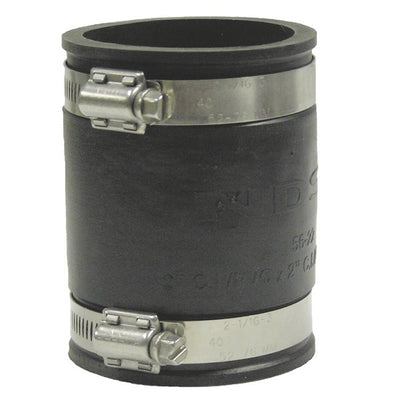 Fernco Rubber Couplers with Stainless Steel Clamps