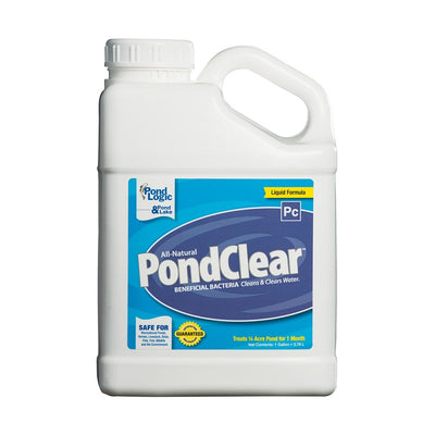 Airmax® Pond Logic® PondClear™ Natural Water Clarifier Liquid, gallon jug