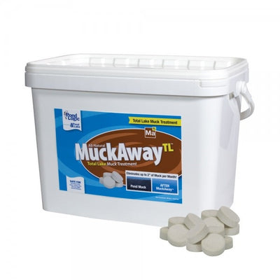 Airmax® MuckAway™ Total Lake Sludge Treatment, 36 pound Tub