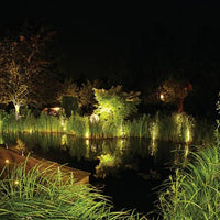 Oase LunAqua 5.1 Halogen Light in a backyard pond