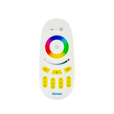 Remote Control  for Airmax® EcoSeries™ Color Changing RGBW LED Lighting
