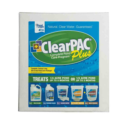 Airmax® Pond Logic® ClearPAC® PLUS MuckAway™ with Algae Defense®