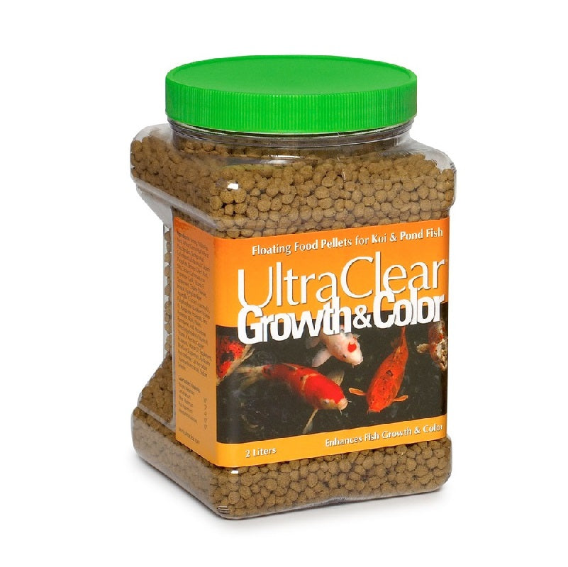 UltraClear® Growth & Color Koi & Pond Fish Floating Pellet Food