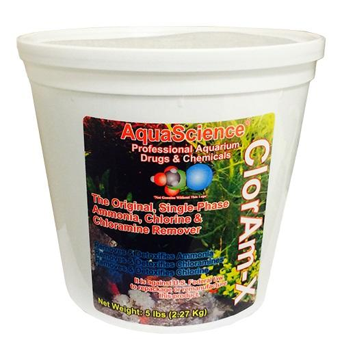 ClorAm-X® Ammonia, Chlorine and Chloramine Remover, 5 Pound Bucket