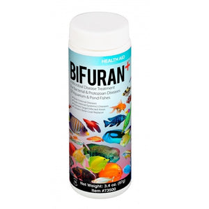 Hikari® Aquarium Solutions® BiFuran+ Treatment for Microbial Bacteria and Protozoan Diseases