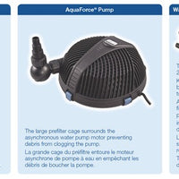 Features of the Aquascape® UltraKlean™ 1000 Filtration Kit
