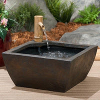 Using Aquascape® Aquatic Patio Pond Fountain Kit as a simple water feature