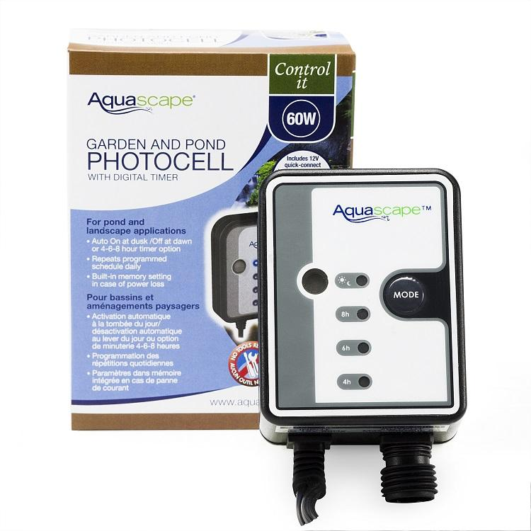 Aquascape Quick-Connect 12V Photocell with Digital Timer