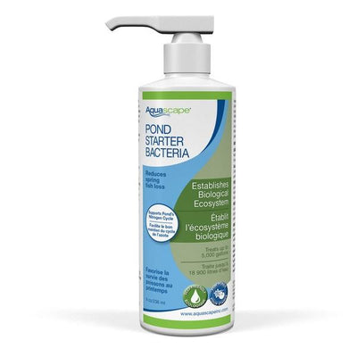 Aquascape® Pond Starter Beneficial Bacteria, 8 Ounce Bottle