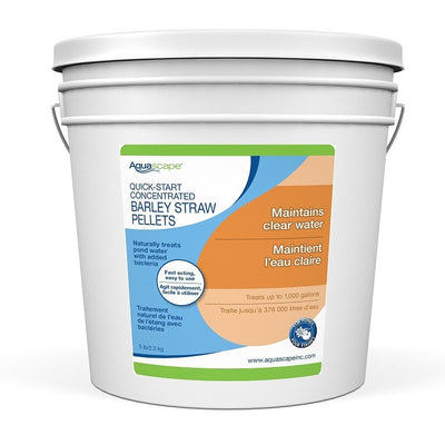 Aquascape® Quick Start Concentrated Barley Straw Pellets, 5 Pound Bucket