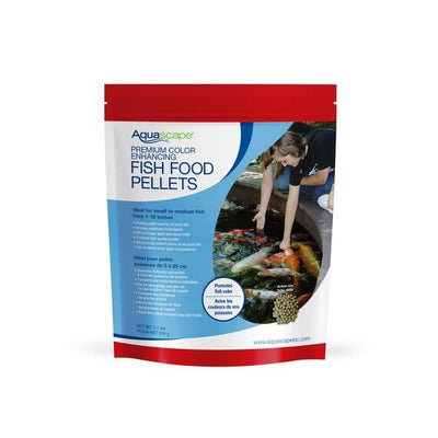 Aquascape® Premium Color Enhancing Fish Food Pellets