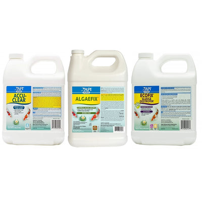 API® Pond Spring Clarity Bundle: Accu Clear, EcoFix & AlgaeFix