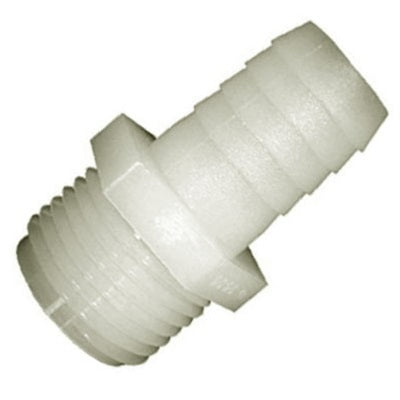 Straight Adapters: Metric Male Thread (Metric MPT) to Insert (Barb)