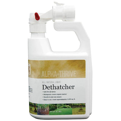 Alpha Thrive All-Natural Dethatcher Hose-End Sprayer by Alpha BioSystems
