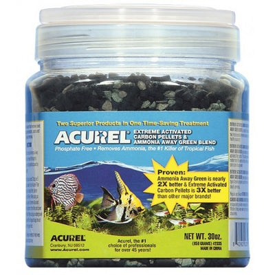 Acurel® Extreme Activated Carbon with Ammonia-Away Green Blend, 30 ounce bottle