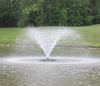 Anjon Manufacturing Monsoon Floating Fountains with 6 Interchangeable Nozzles during the daytime