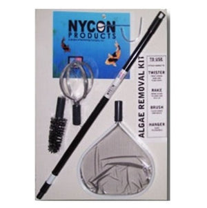 Nycon Algae Removal Kit with Interchangeable Heads