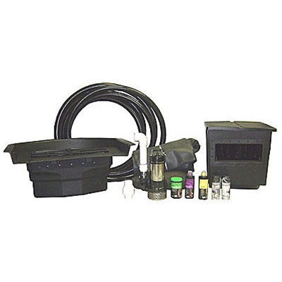 LARGE Pond Kits with Atlantic Water Gardens Skimmer, Filter, Pump, Water Treatment & Tools