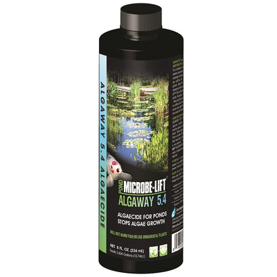Microbe-Lift® Algaway 5.4 Algaecide for Ponds, 8 Ounces