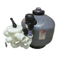 "Grand Champion Technologies AquaBead 3"" External Filter with 3"" Unions and Tubing"