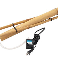 "Collapsed view of Bamboo Accents 18"" Adjustable Spout & Pump Kit"