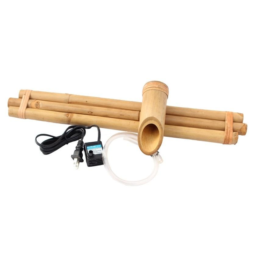 "Bamboo Accents 18"" Three-Arm Spout & Pump Kit"
