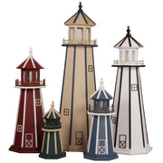 Beaver Dam Woodworks Amish-Made Poly Lighthouses
