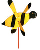 Bumblebee Whirlybird Wind Spinner Yard Decoration