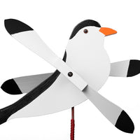 Chickadee Whirlybird Wind Spinner Yard Decoration