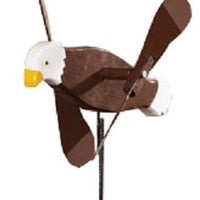 Eagle Whirlybird Wind Spinner Yard Decoration
