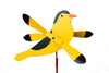 Goldfinch Whirlybird Wind Spinner Yard Decoration