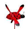 Ladybug Whirlybird Wind Spinner Yard Decoration