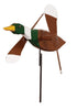 Mallard Duck Whirlybird Wind Spinner Yard Decoration