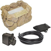 "Beckett® 8"" Stone Look Waterfall Filter Kit"