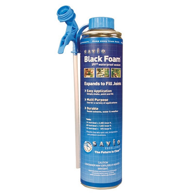 Savio Black Waterfall Spray Foam