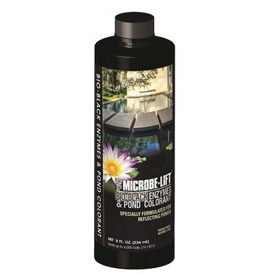 Microbe-Lift® Bio-Black Enzymes & Pond Colorant, 8 Ounces