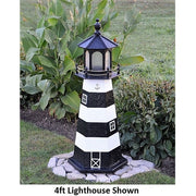 4' Hexagonal Amish-Made Wooden Cape Canaveral, FL Replica Lighthouse