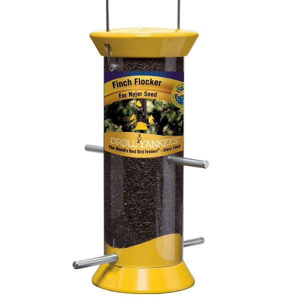 Droll Yankees® New Generations 4-Port Finch Flocker Nyjer Seed Feeder
