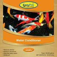 Product label for gallon EasyPro Water Conditioner and Dechlorinator